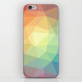 LOWPOLY RAINBOW iPhone Skin