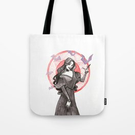 Vampire Girl Tote Bag