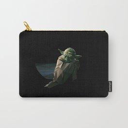 Geometric Yoda Carry-All Pouch