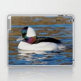 Bufflehead Duck on the Winter Pond Laptop & iPad Skin