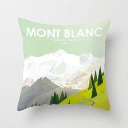 Alone In Nature - Là Haut Throw Pillow