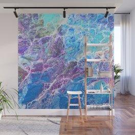 Iridescent Mermaid Wall Mural