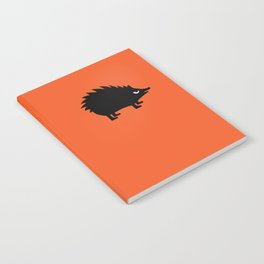 Angry Animals: hedgehog Notebook