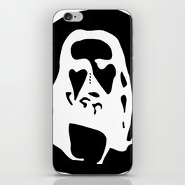 Optical Illusion - After Image - Jesus Christ iPhone Skin