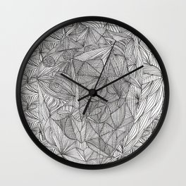 visage série /1 Wall Clock