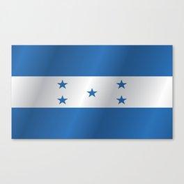 Flag of Honduras Canvas Print