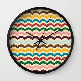 sweet summer waves Wall Clock