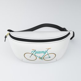 Miami Typo - Bike Fanny Pack