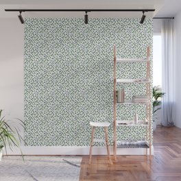 Abstract Watercolor Forest Wall Mural