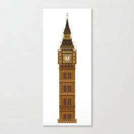 Big Ben Isolated Canvas Print
