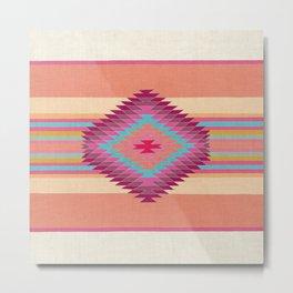 FIESTA (pink) Metal Print