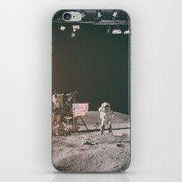 Moon Landing - Stanley Kubrick outtakes iPhone Skin