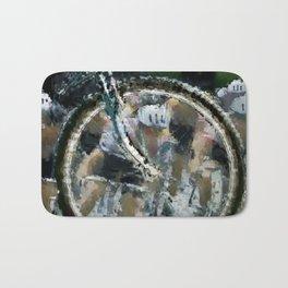 Bike race Bath Mat