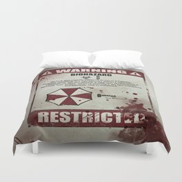 Biohazard Duvet Cover