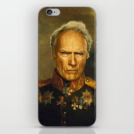Clint Eastwood - replaceface iPhone Skin