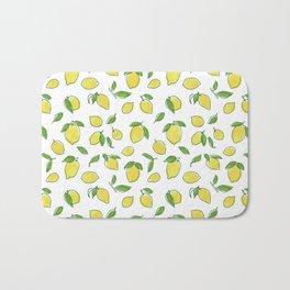 Lemon Leaf Bath Mat