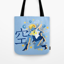 Soldier of the Heavens & Sky Tote Bag