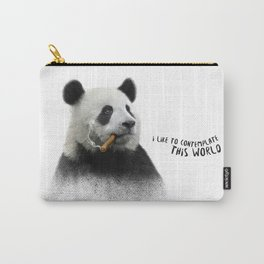 Panda contemplator Carry-All Pouch