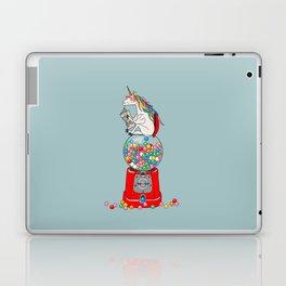 Unicorn Gumball Poop Laptop & iPad Skin