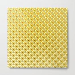 Lemons are watching you! – Strange Fruits Metal Print