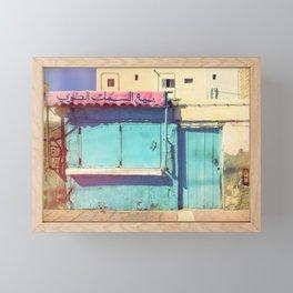 Sunday in Morocco Framed Mini Art Print