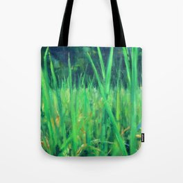 Grasslands in the Himalayan Foothills Tote Bag