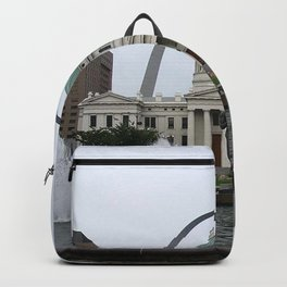 St. Louis arch Backpack