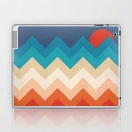 Vintage 70s Adventure on the Mountains Laptop & iPad Skin