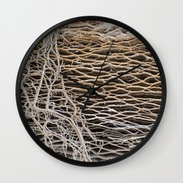 prickly on the outside - squishy on the inside Wall Clock