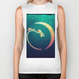 Snail's Moon Eclipse Biker Tank