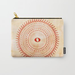 Watercolor music mandala no 2 Carry-All Pouch