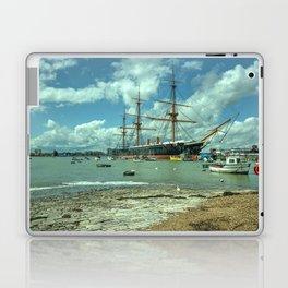HMS Warrior at Portsmouth Harbour Laptop & iPad Skin