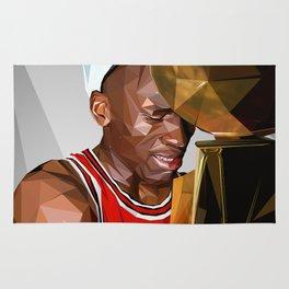 MJ THE GOAT Rug