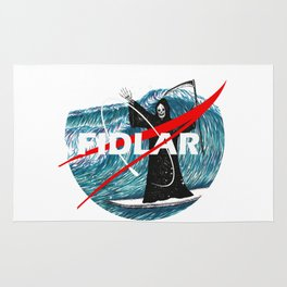 NASA FIDLAR LOGO Rug