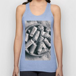 Collection of Corks. Unisex Tank Top