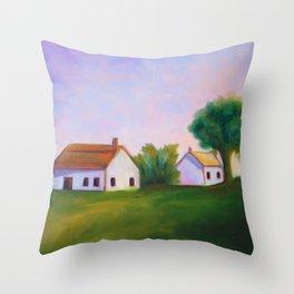 Farmhouse Tranquility Throw Pillow
