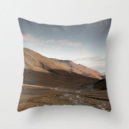 Atigun Sunrise Throw Pillow