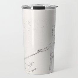 Hawkeyes - walkies Travel Mug
