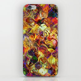 V15 Lovely Traditional Moroccan Pattern Colored Design Waves. iPhone Skin