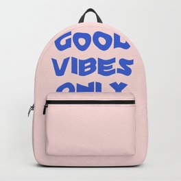 good vibes only XII Backpack