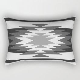 Aztec - black and white Rectangular Pillow