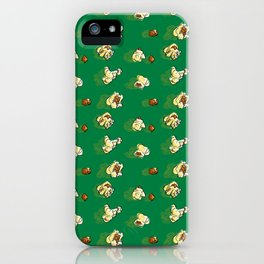 Popcorn Pattern iPhone Case