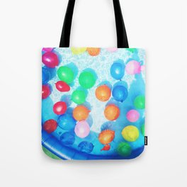 Celebratory Balloons Tote Bag