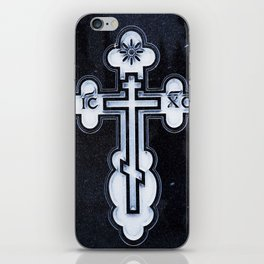 Russian Greek Orthodox Cross iPhone Skin