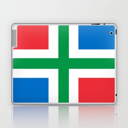Groningen region Netherlands province Flag Laptop & iPad Skin