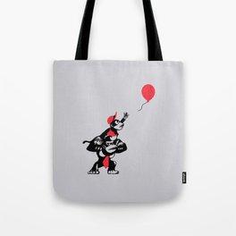 Balloon Apes Tote Bag