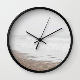 Faded ocean Wall Clock