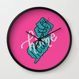 New Jersey State Home Wall Clock