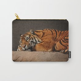 Resting Sumatran Tiger Carry-All Pouch