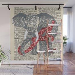 Roll Tide (Alabama Elephant) Wall Mural